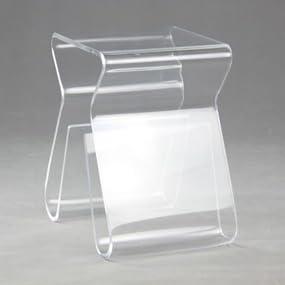 Acrylic End Table;arylic Side Table;magazine Rack Table;magazine Rack Stool;