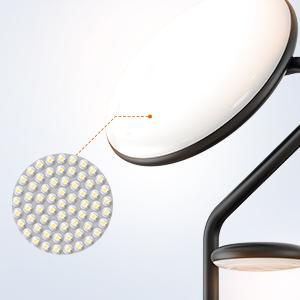 Energy-Efficient LED, Protect Eyes Gently