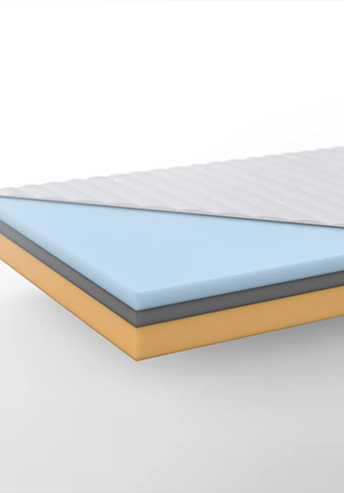 hilding sweden cloud matratze in wei 5 schichten memoryschaum matratze mit memory effect f r. Black Bedroom Furniture Sets. Home Design Ideas