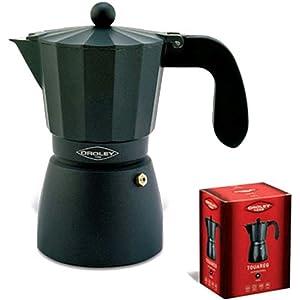 Oroley - Cafetera Italiana Touareg de Aluminio, 3 Tazas: Amazon.es ...