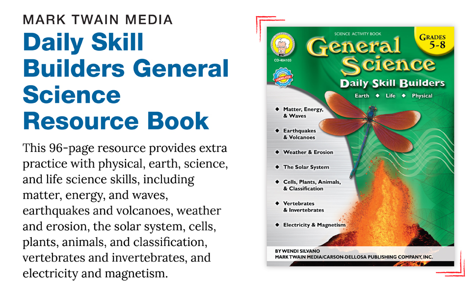 Daily Skill Builders Science workbook with product description.