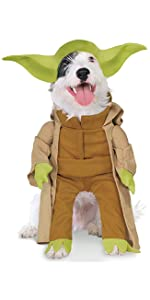 Yoda Pet Costume with Arms