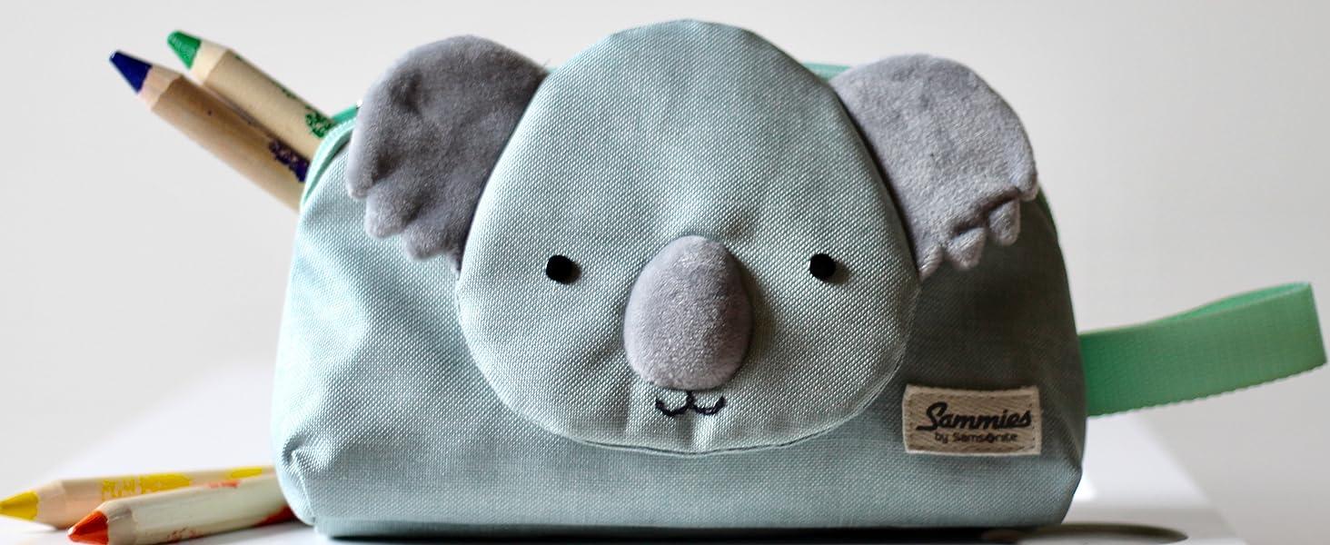 happy sammies; koala kids; samsonite kids; pencil case; schoolbag; backpack; bags; kids bags; kids