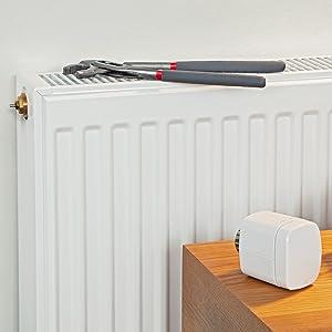 Eve 10EBH1701 Thermo Vanne de radiateur Blanc