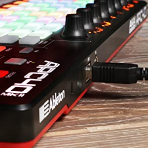 APC40 MKII USB-Powered Full-Featured Ableton Live Performance MIDI Controller with Software Package
