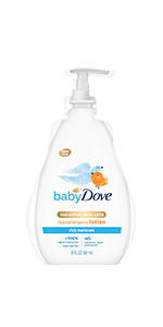 Baby Dove Face and Body Lotion Rich Moisture 20 oz