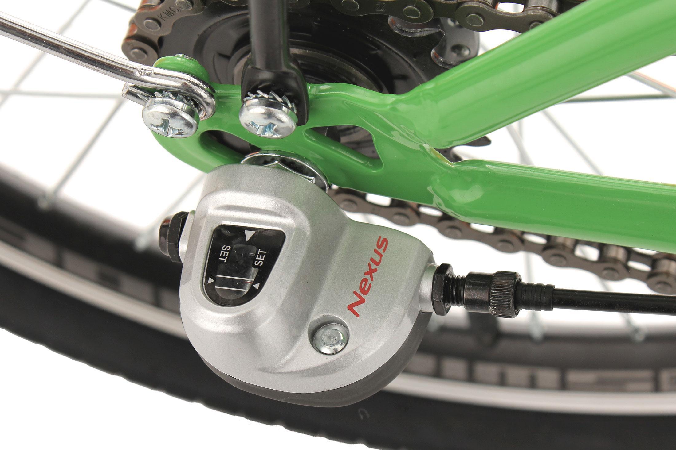 KS Cycling Klapprad 20'' FX300 grün 3 Gänge RH 30 cm