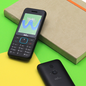 "Wiko Riff3 - Teléfono móvil Libre de 2,4"" (Dual SIM, Radio FM ..."