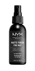 nyx, setting spray, glitter