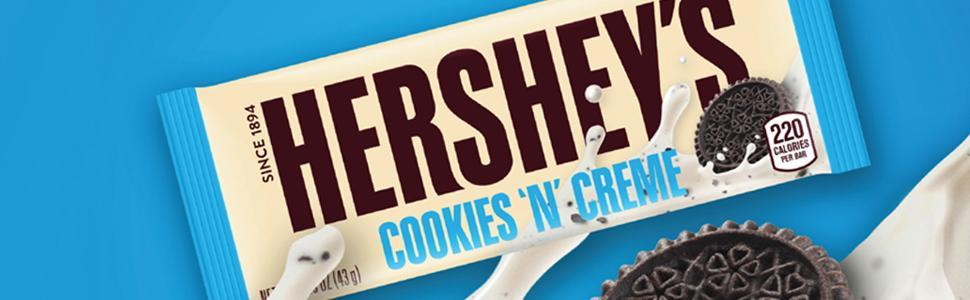amazon com hershey s christmas chocolate candy bar cookies n