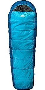 sleeping bag;trekking;lightweight;season;warm;camping;hiking;mummy;single;4 season;