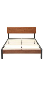 Heavy duty bed frame, metal frame, queen bed frame, metal bed frame