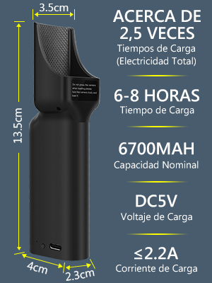 Neewer Banco Energia de Bolsillo Estuche Carga Compatible con DJI OSMO Pocket