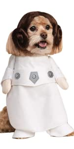 Princess Leia Pet Costume