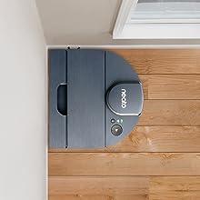 D-shape, Corner clean, Neato D8, Indigo, cornerclever, round robot, vacuum cleaner, robot vacuum