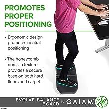 Promotes Proper Positioning