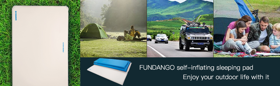 outdoor double sleep and camp pad