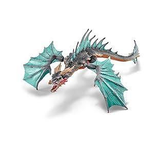 Amazon Com Schleich North America Dragon Diver Toy Figure