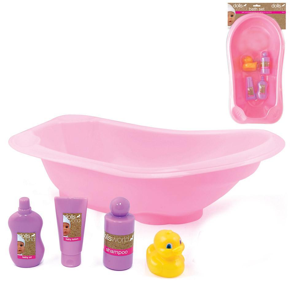 Dolls World Bath Set: Amazon.co.uk: Toys & Games
