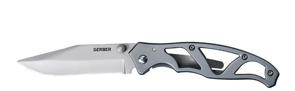 Gerber Paraframe II Knife, Fine Edge, Stainless Steel [22-48448]