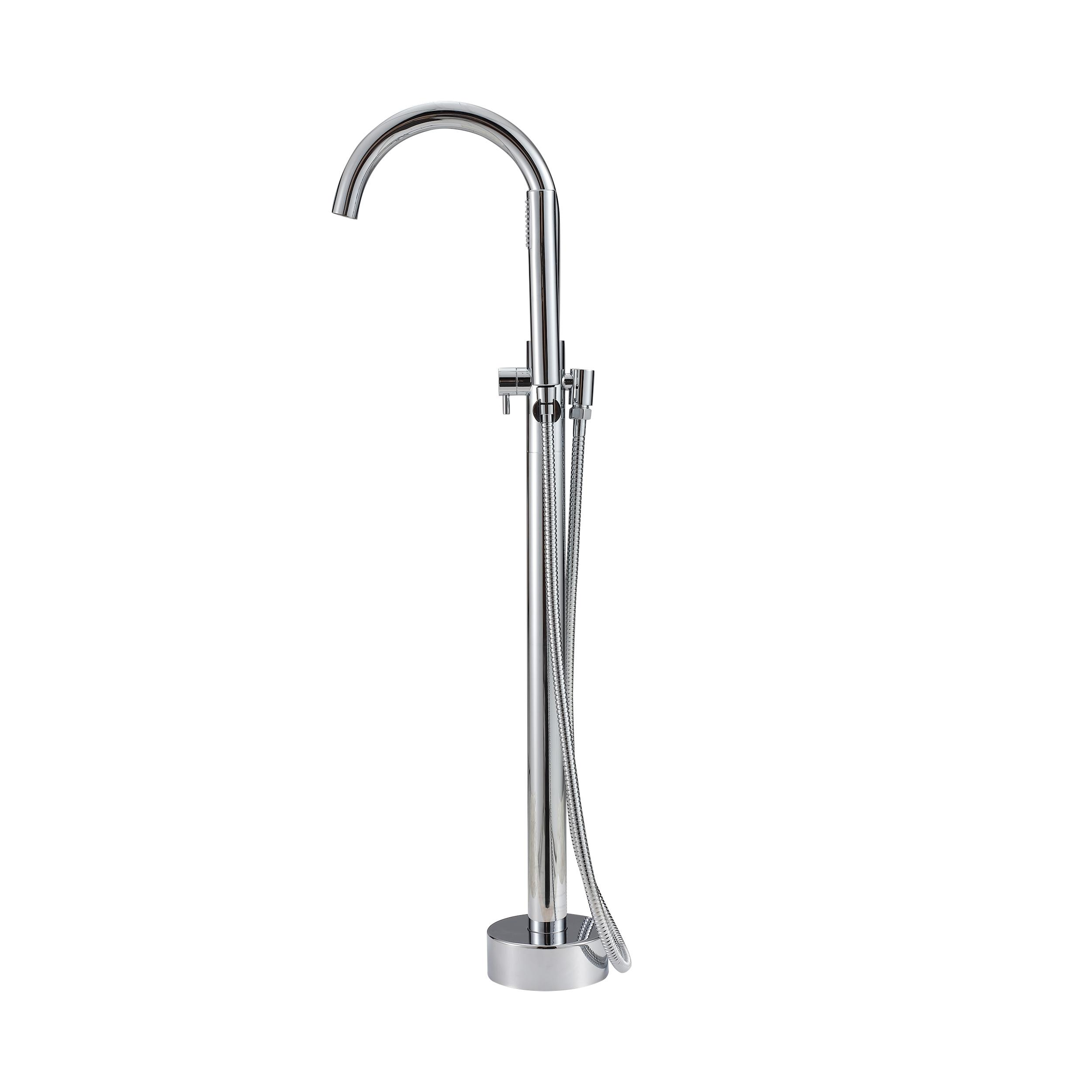 faucets bathtub fantasia shower clawfoot and tub filler floor waterfall mounted