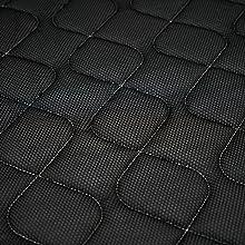 Duérmete Online Colchón viscoelástico Lyla Reversible (Cara Invierno-Verano)   Muy Transpirable   Fabricado en ESPAÑA, 150x180