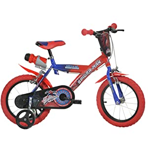 "Dino Bikes Spider-Man 16"" Bicycle"