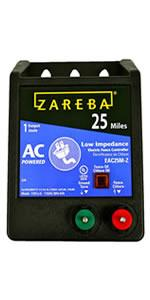 Amazon Com Zareba Eac25m Z Ac Powered Low Impedance 25