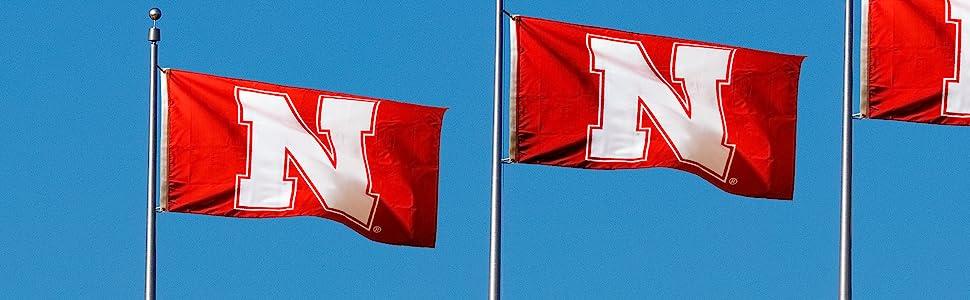 College Flags, Team Flags, 3 x 5 Flags