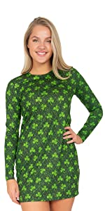 faux real, st. patty's, st. patrick's day, costume, t-shirt, hoodie, leggings, womens, costume