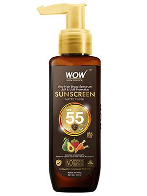 WOW Skin Science Sunscreen SPF 55 PA++