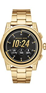 Amazon.com: Michael Kors Access, Mens Smartwatch, Grayson ...