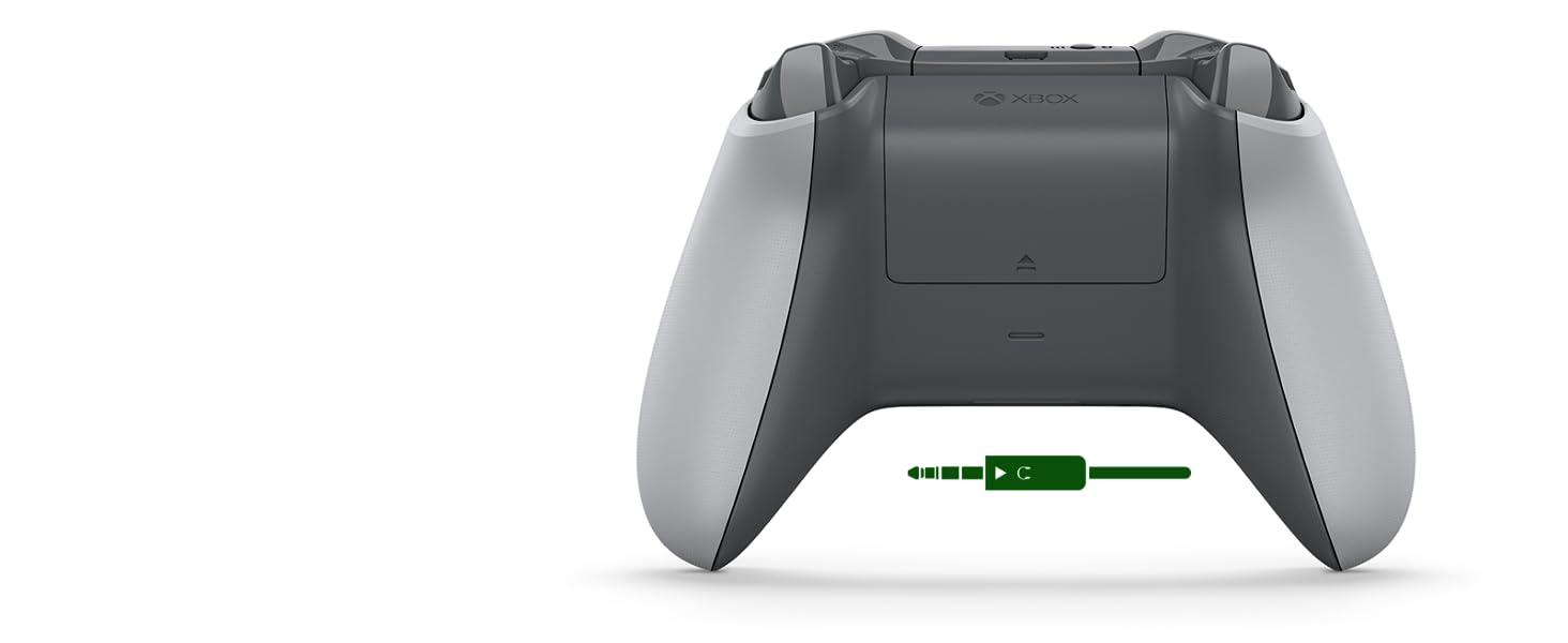 Microsoft WL3-00061 , Controlador inalámbrico para Xbox One, Gris / Verde: Microsoft: Amazon.es: Videojuegos