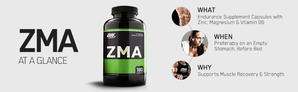 optimum nutrition zma zinc magnesium b6
