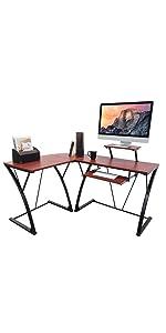 aca-cdk-3k mbeat activiva khole home office computer gaming glass desk l-shape workstation
