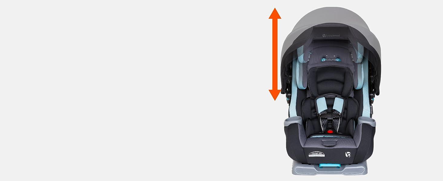 Baby Trend Adjustable Headrest
