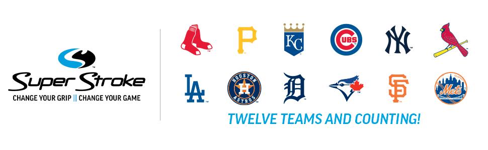 Golf, Putter, Club, Grip, Licensed, Grip, Ball Marker, Rubber, Technology, Texture, MLB, Baseball