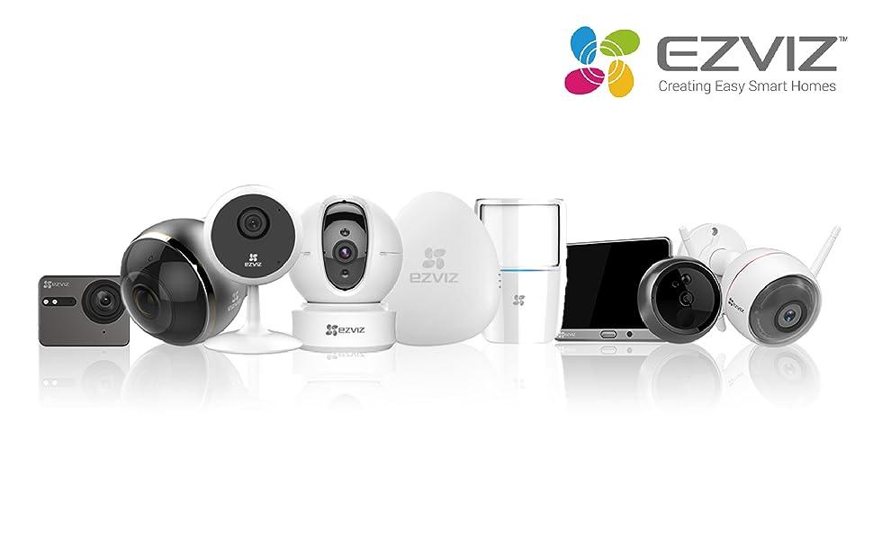 EZVIZ, Wireless Security, Security Cameras for home, Wireless cameras, indoor cameras, outdoor camer