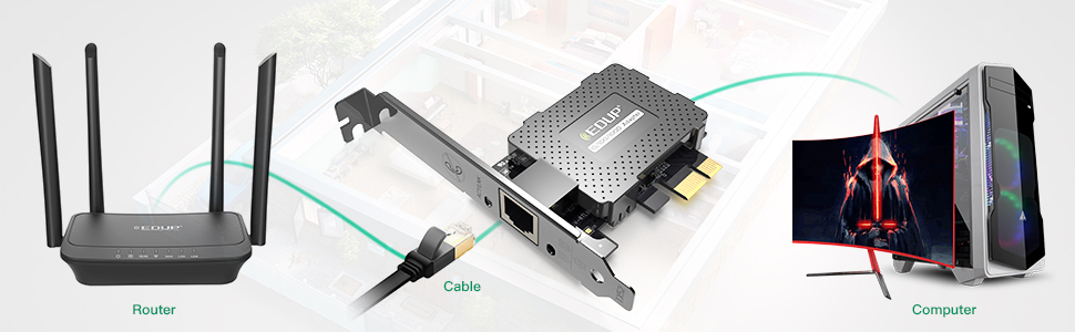 network card for desktop