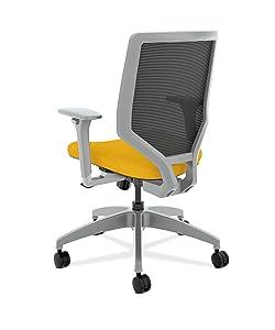 Amazon.com: hon resolver Series Back tarea silla – Mid Back ...