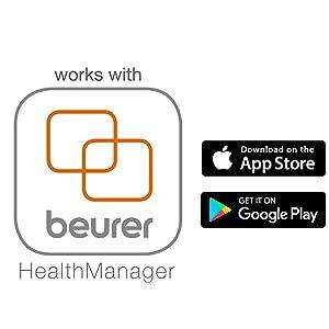 Aktivitätstracker mit App, Aktivitätssensor, Fitnessarmband