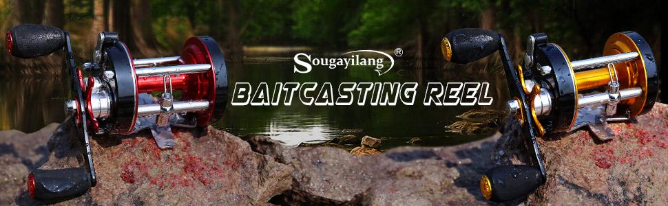 round bait casting reel