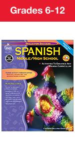 Middle School and High School Spanish Workbook