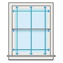 DEZ Furnishings QDER380640 Cordless Light Filtering Pleated Shade Ecru 38W x 64L Inches