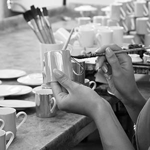 lsa international handmade glass mouthblown by artisans sorbet collection handpainted porcelain