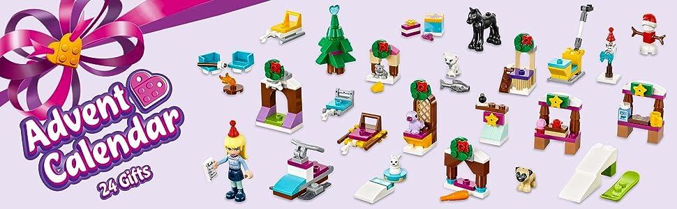 LEGO 41326 Friends Advent Calendar 2017 Construction Toy: LEGO ...