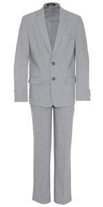 kids suit set; boys suits; solid suits; trajes de nino; blazer and pant for kids;chaps suit; suit