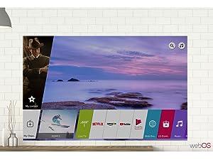 webOS 4.0; Smart TV; LG Smart TV, smarter Fernseher