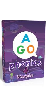 AGO フォニックス 英語 カードゲーム