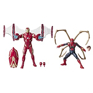 Marvel Legends - Iron Man Mark 50 y Iron Spider (Hasbro E6341E48 ...